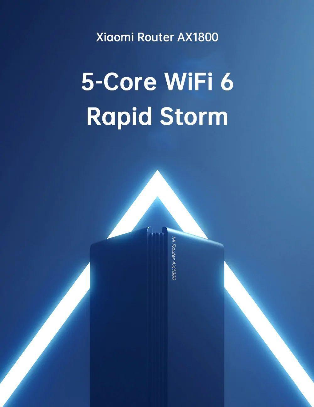 Xiaomi Router Ax1800 5 Core Wi Fi 6 Wireless Router Dual Band (3)