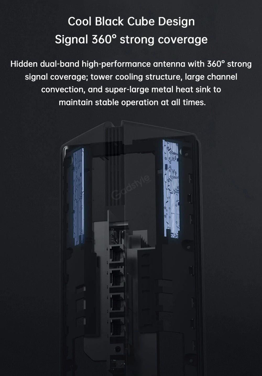 Xiaomi Router Ax1800 5 Core Wi Fi 6 Wireless Router Dual Band (5)