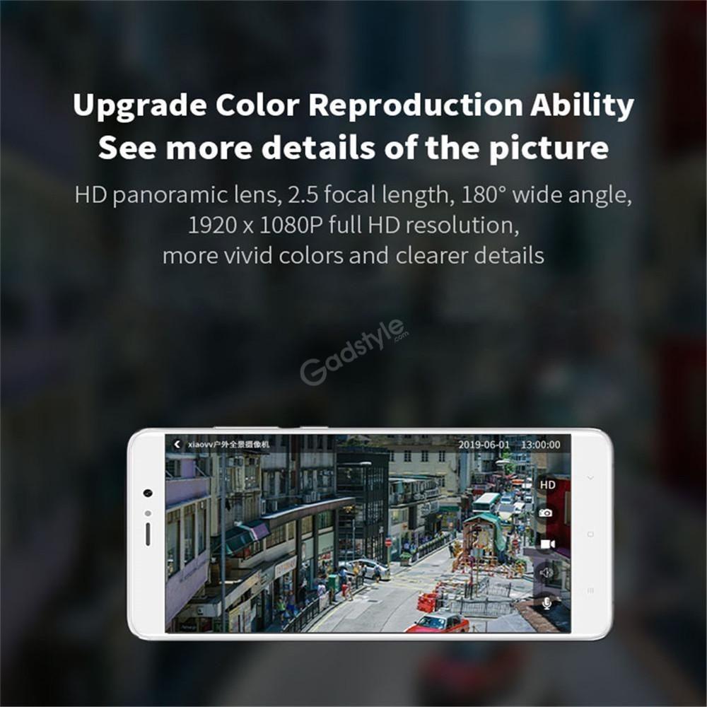 Xiaomi Xiaovv Outdoor Panoramic Camera 1080p Ip65 Night Vision (5)