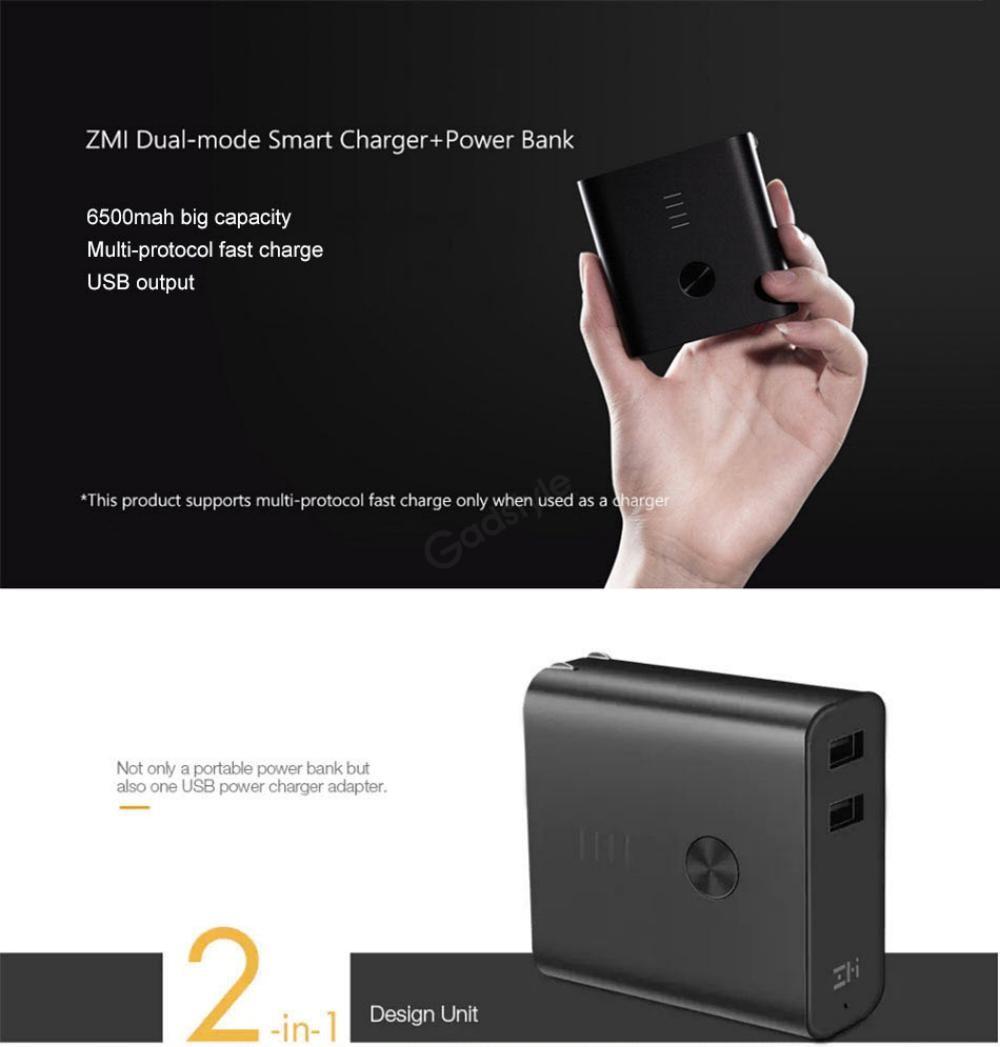 Zmi Apb01 Powerbank 6500mah Dual Usb (2)