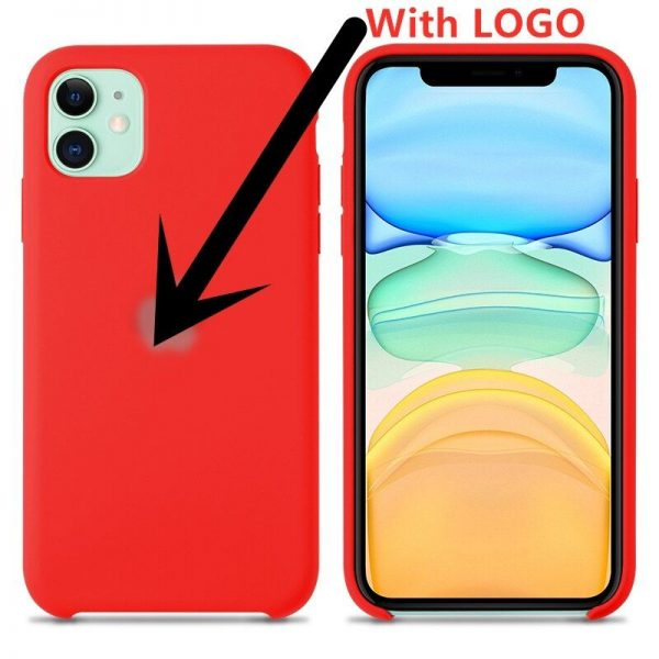 Liquid Silicone Case For Apple Iphone 12 11 Pro Max X Xs Xr Xsmax Case Phone (1)