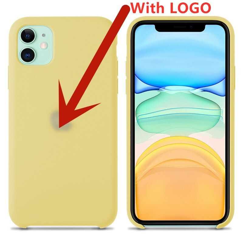 Liquid Silicone Case For Apple Iphone 12 11 Pro Max X Xs Xr Xsmax Case Phone (2)