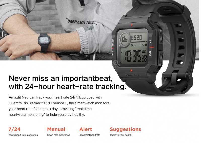 Amazfit Neo Smart Watch (2)