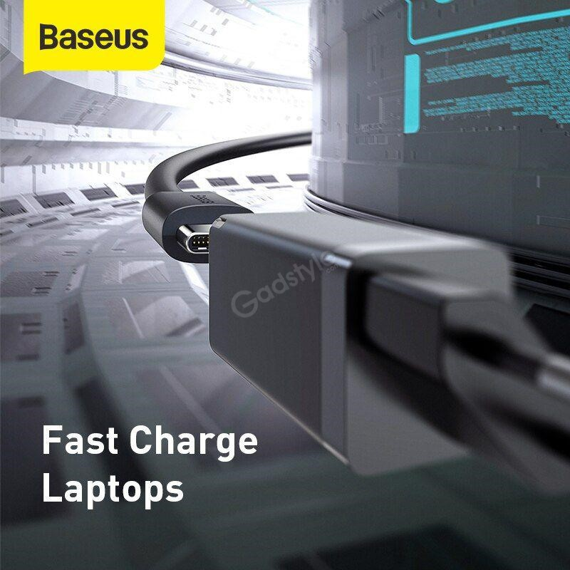 Baseus 45w Gan Mini Quick Charger With Type C Cable (4)