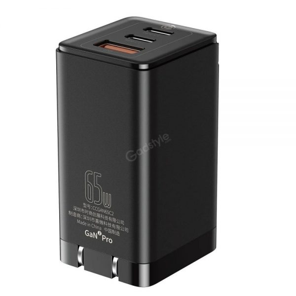 Baseus 65w Gan2 Pro Type C Pd Wall Charger (5)