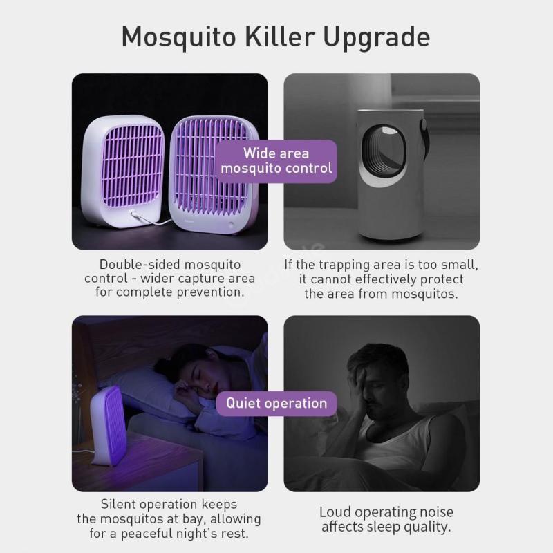 Baseus Baijing Desktop Mosquito Lamp (5)