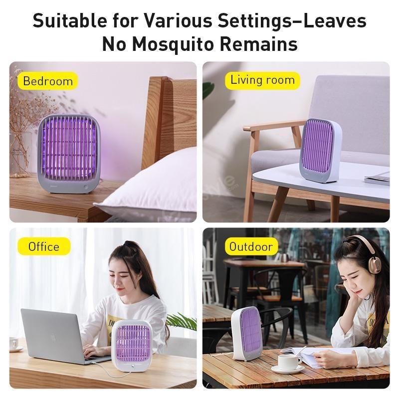 Baseus Baijing Desktop Mosquito Lamp (6)