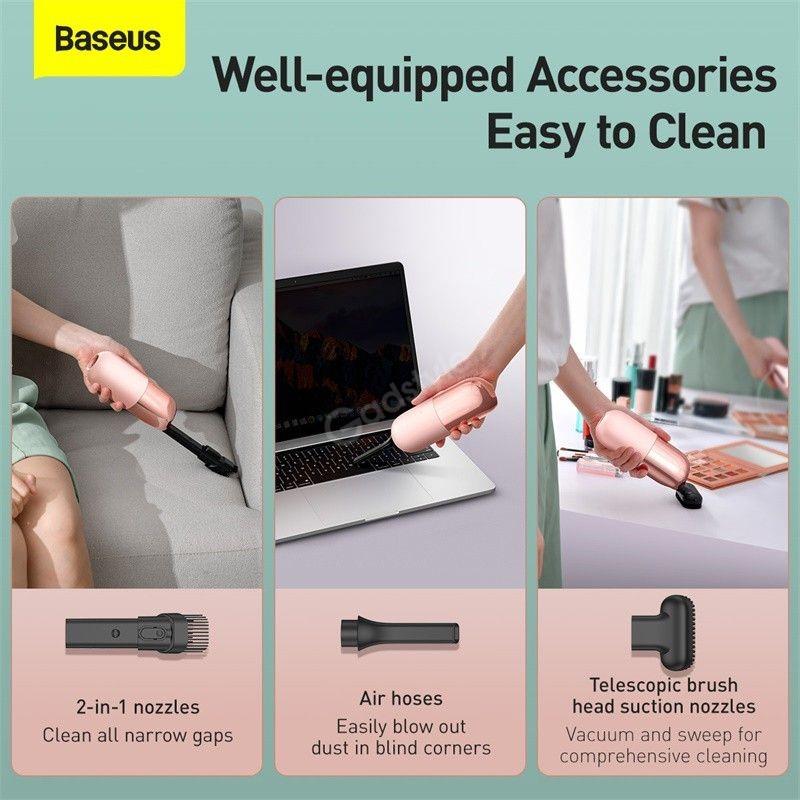 Baseus C1 Portable Handheld Vacuum Cleaner (1)