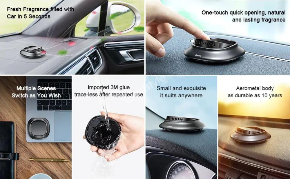 Baseus Car Air Freshener Perfume Fragrance Perfume Holder (3)