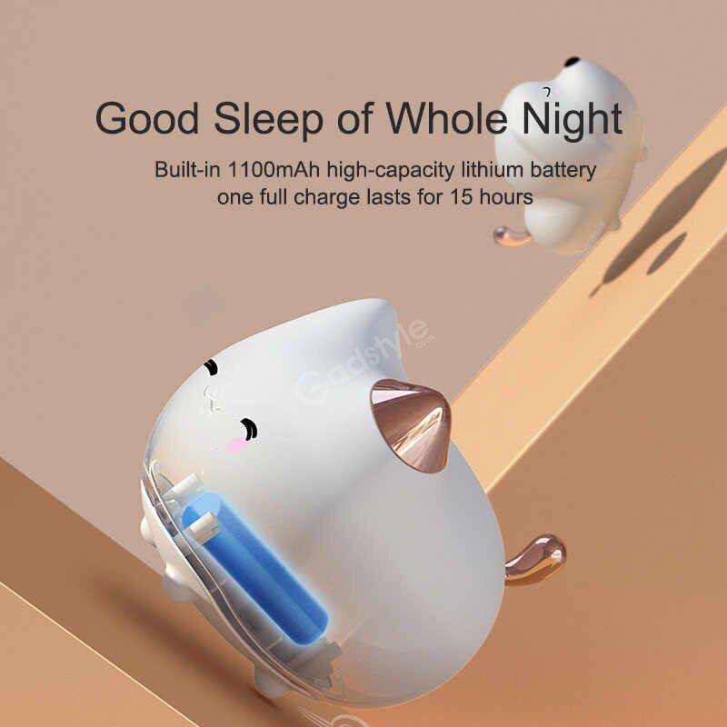 Baseus Cute Led Night Light Soft Silicone Touch Sensor Night (6)