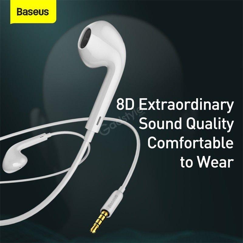 Baseus Encok H16 Ergonomic Design Wired Earphone (1)