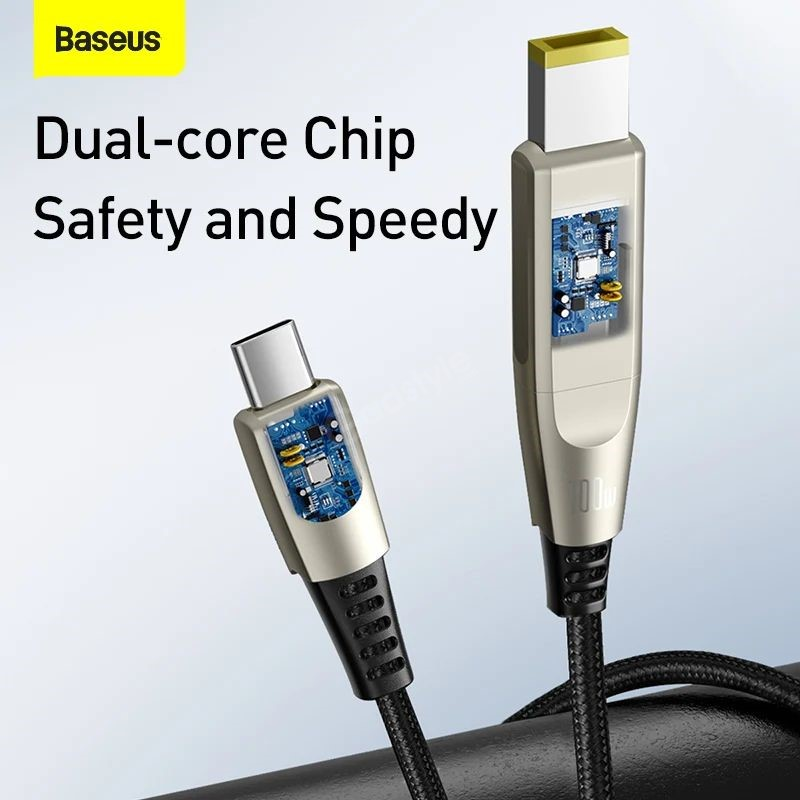 Baseus Fast Charging Data Cable Type C To Cdc 100w (2)
