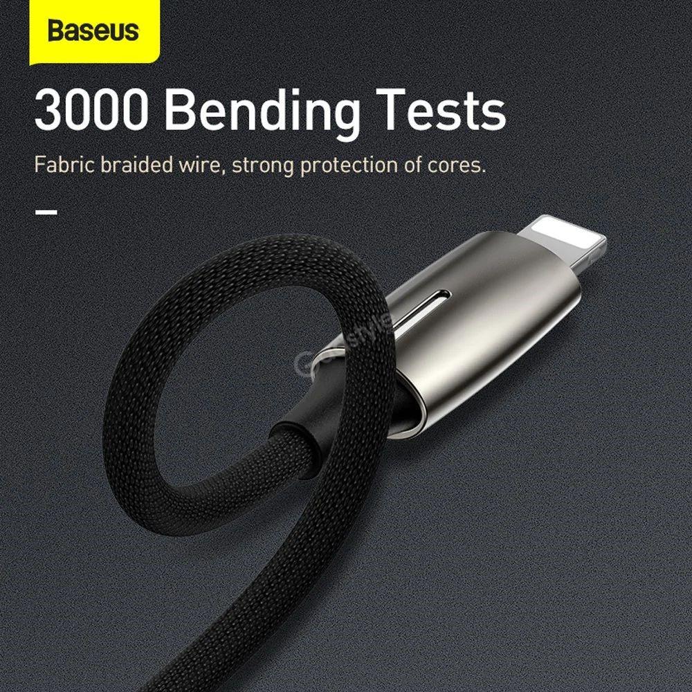 Baseus L56 Lightning Female 3 5mm Female Audio Adapter Converter (4)
