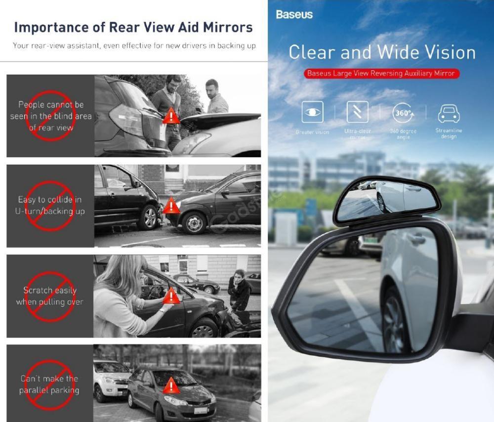 Baseus Large View Reversing Auxiliary Mirror (2)