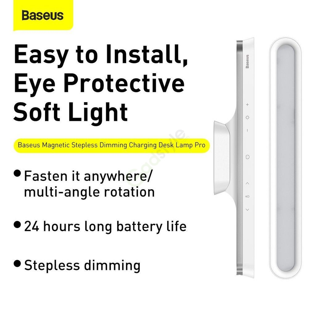Baseus Magnetic Stepless Dimming Charging Desk Lamp Pro (8)
