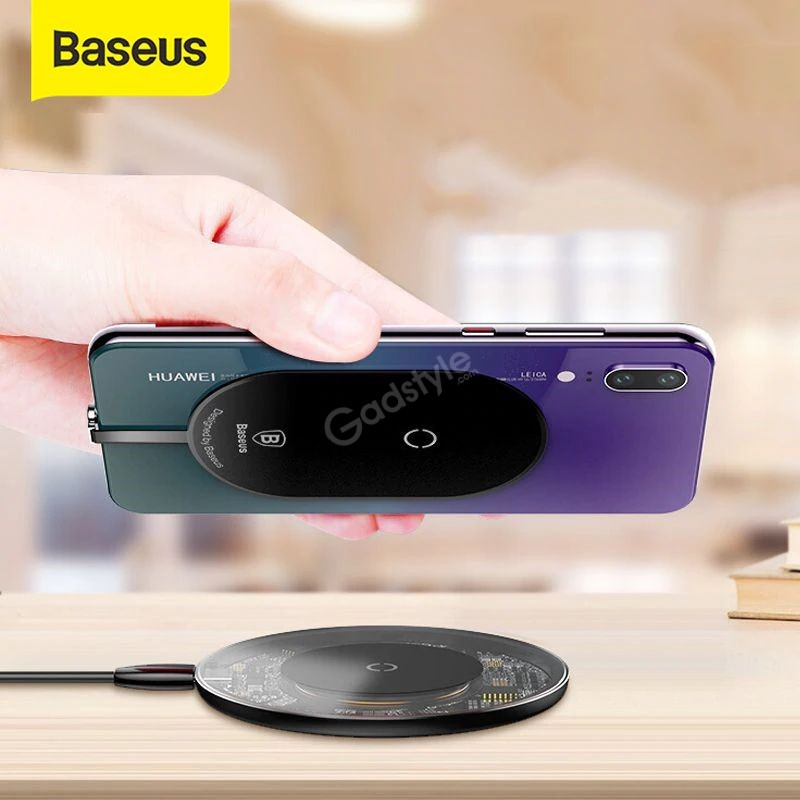 Baseus Microfiber Wireless Charging Receiver Qi Receiver (2)