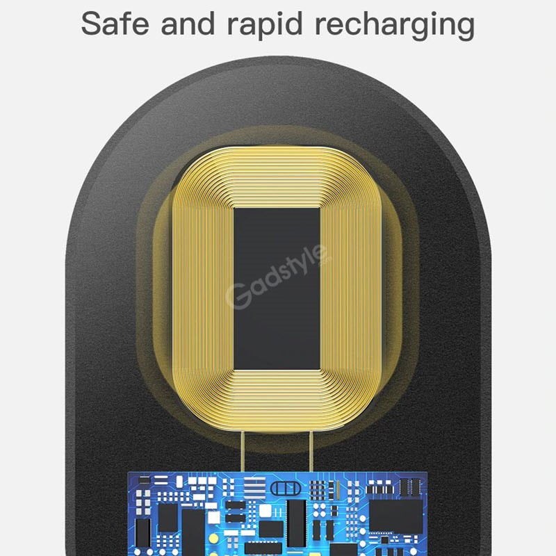 Baseus Microfiber Wireless Charging Receiver Qi Receiver (5)