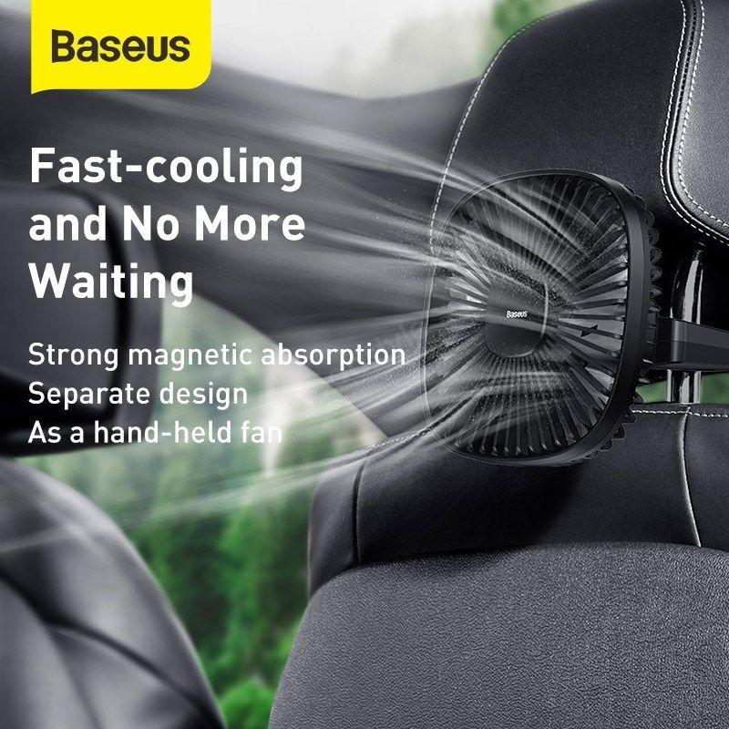 Baseus Natural Wind Magnetic Rear Seat Fan (1)