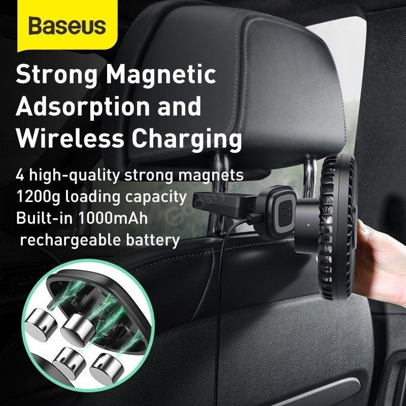 Baseus Natural Wind Magnetic Rear Seat Fan (2)