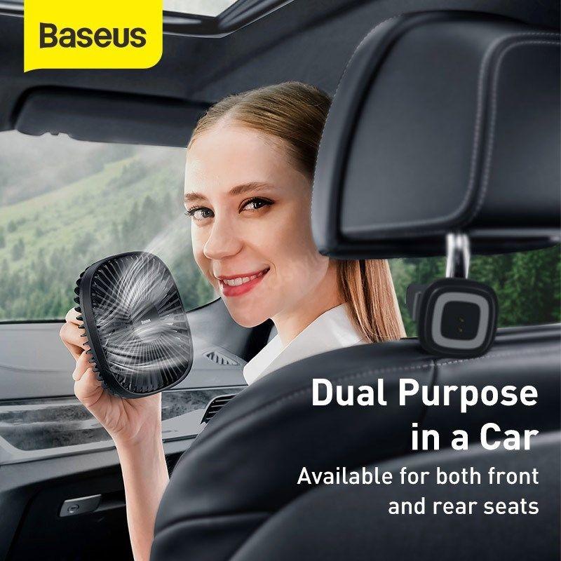 Baseus Natural Wind Magnetic Rear Seat Fan (3)
