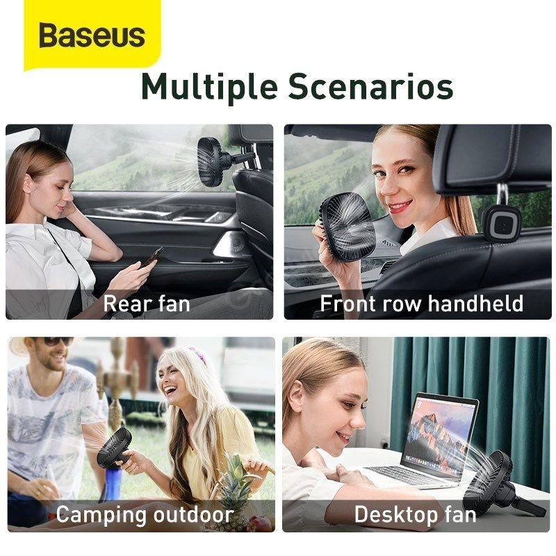 Baseus Natural Wind Magnetic Rear Seat Fan (4)