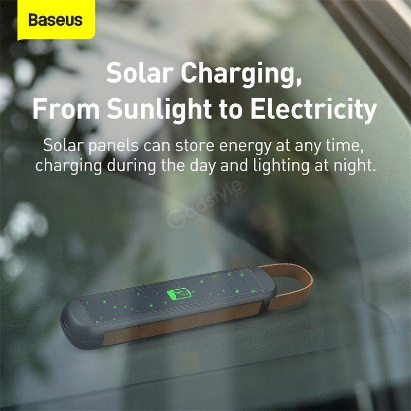 Baseus Solar Emergency Car Flashlight (2)