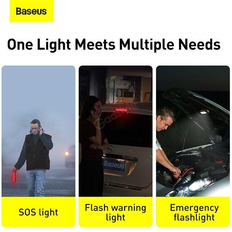 Baseus Solar Emergency Car Flashlight (4)
