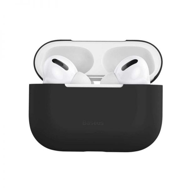 Baseus Super Thin Silica Gel Case For Airpods Pro (3)