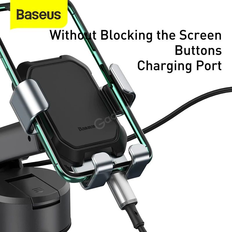 Baseus Tank Gravity Car Mount Holder With Suction Base (2)