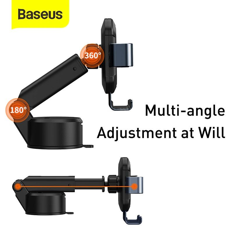 Baseus Tank Gravity Car Mount Holder With Suction Base (3)