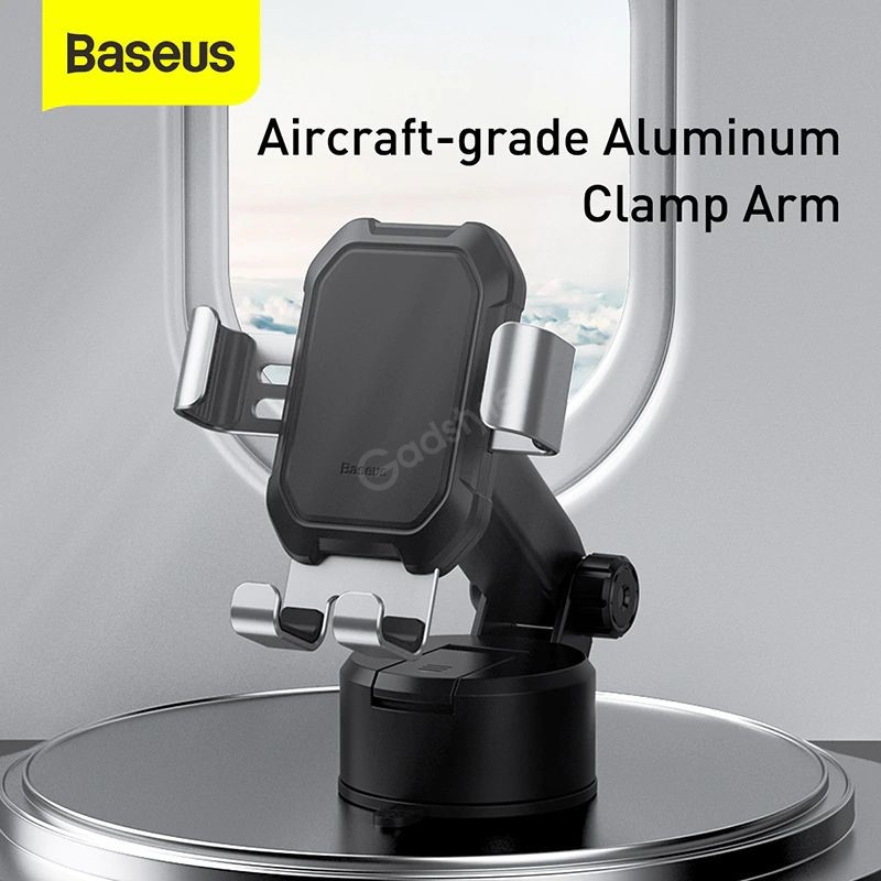 Baseus Tank Gravity Car Mount Holder With Suction Base (4)