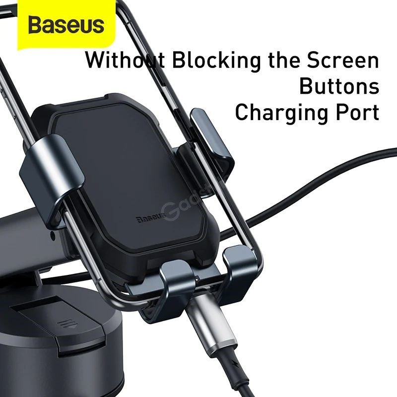 Baseus Tank Gravity Car Mount Holder With Suction Base (5)