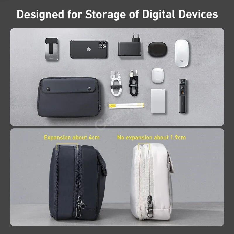 Baseus Track Series Extra Digital Device Storage Bag (2)