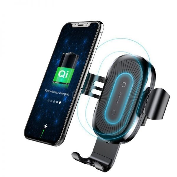 Baseus Wireless Charger Gravity Car Mount (2)