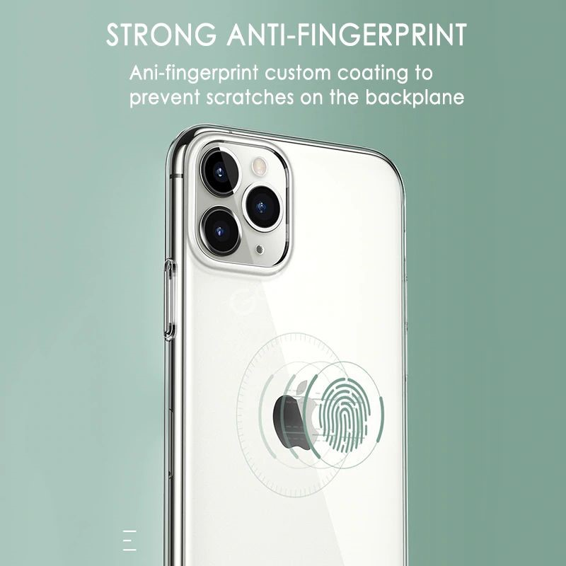 Crystal Clear Transparent Soft Tpu Back Case For Iphone 11 Pro Pro Max (6)