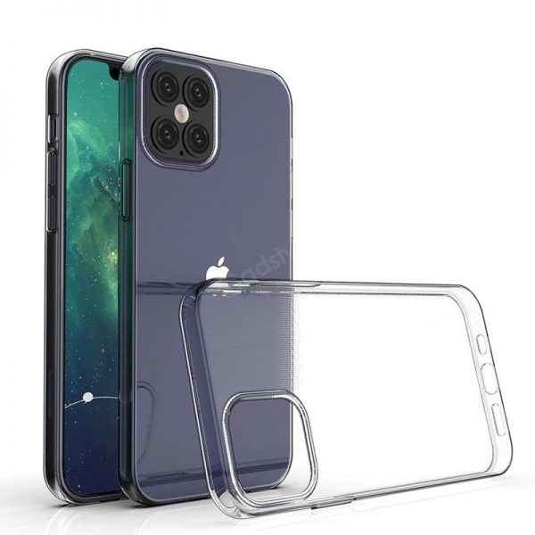 Crystal Clear Transparent Soft Tpu Back Case For Iphone 12 Pro Pro Max And Mini (2)