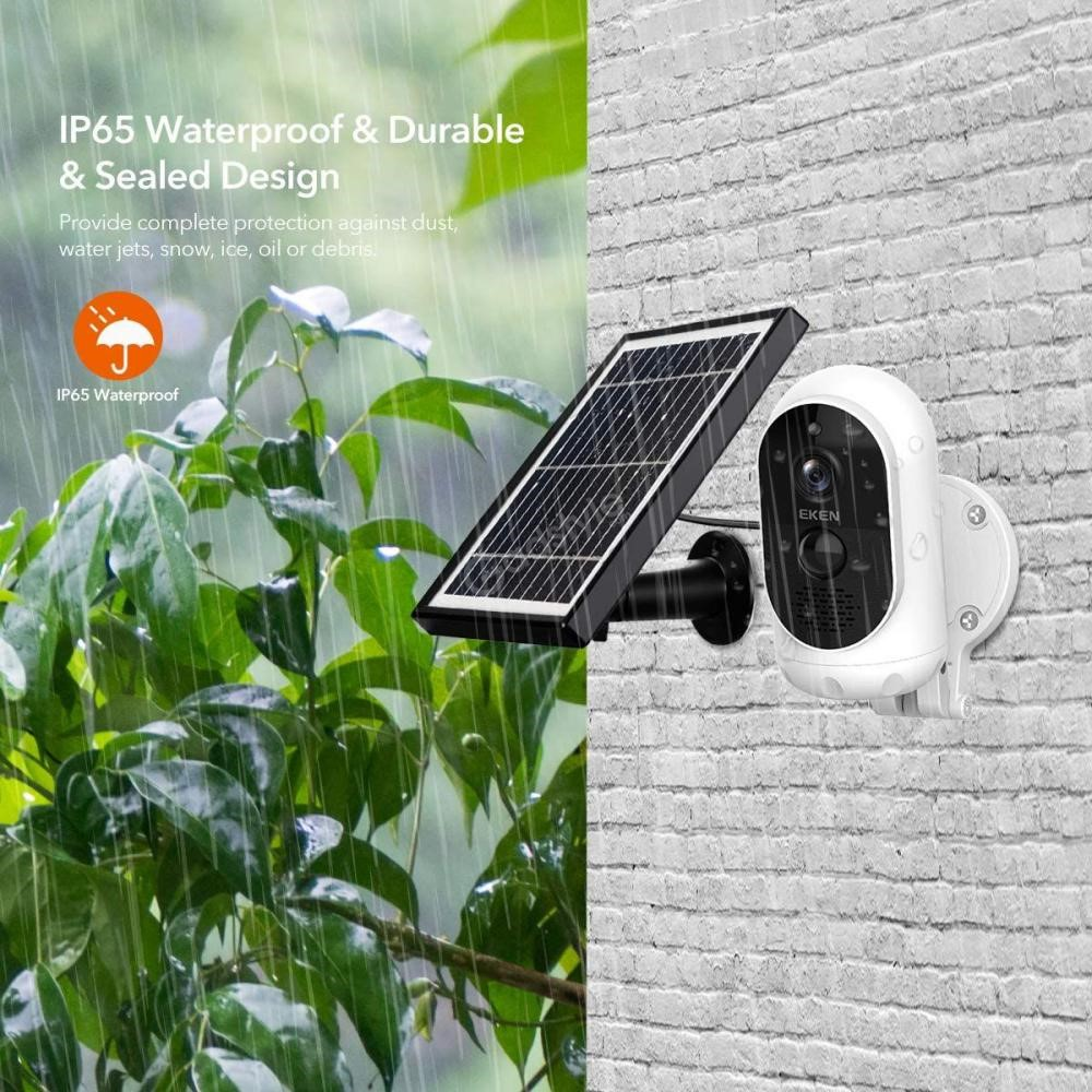 Eken Astro Solar Panel Wire Free 1080p Battery Camera (3)