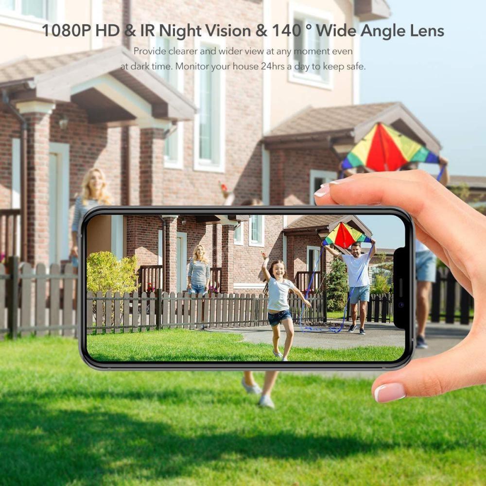 Eken Astro Solar Panel Wire Free 1080p Battery Camera (5)