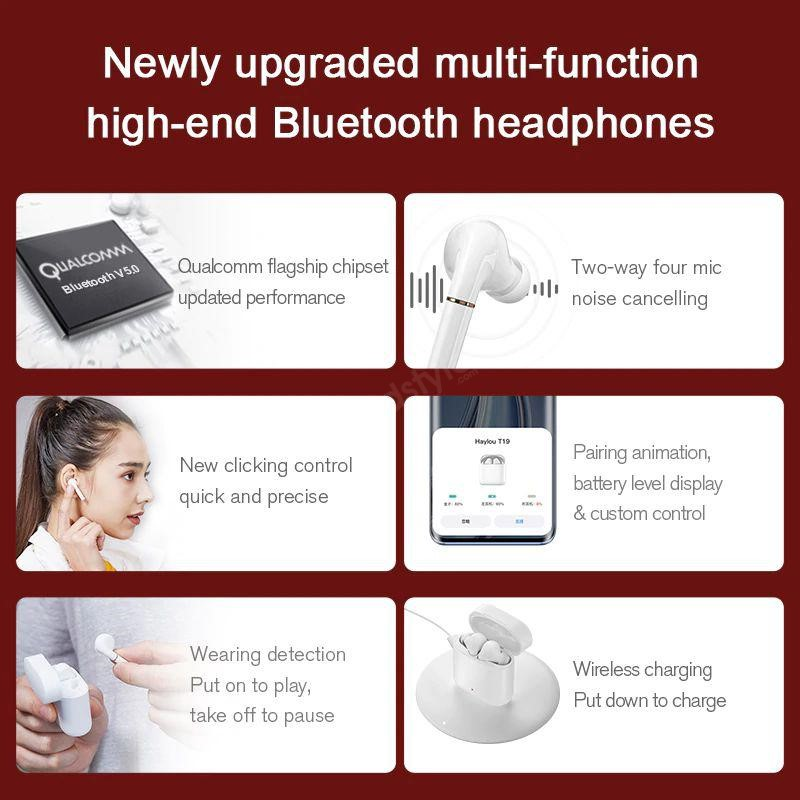 Haylou T19 Tws Bluetooth Earbuds (1)