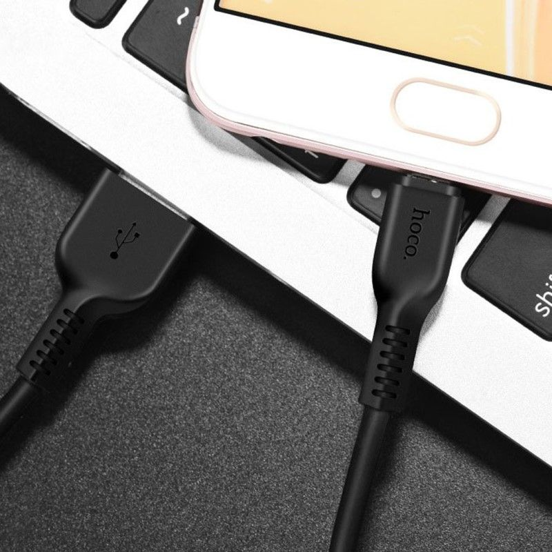 Hoco X20 Flash Micro Charging Cable 3m (1)