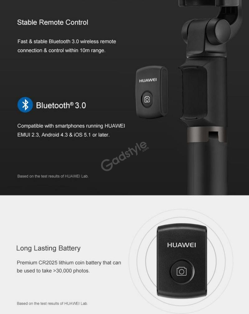 Huawei Wireless Travel Selfie Stick (6)