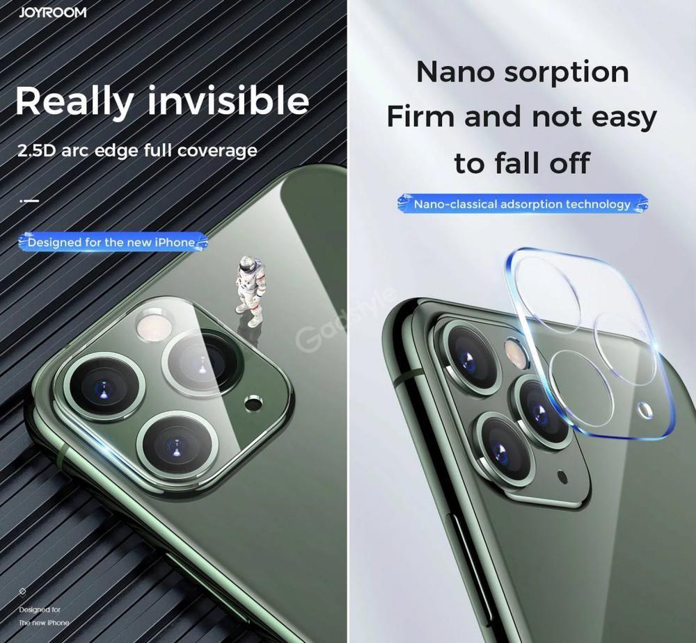 Joyroom Camera Lens Screen Protector Clear Iphone 11 Pro Pro Max (3)