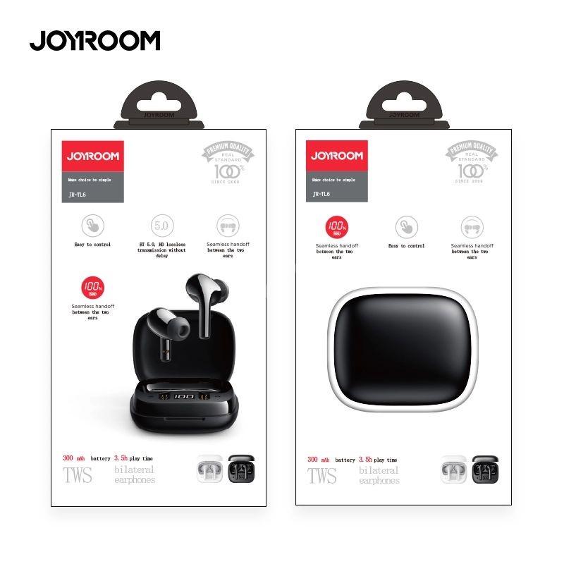 Joyroom Jr Tl6 Tws Earbuds Mini Size With Led Light (1)