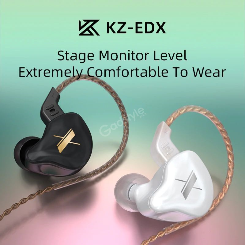 Kz Edx Magnetic Dynamic Driver Hifi In Ear Earphones (1)