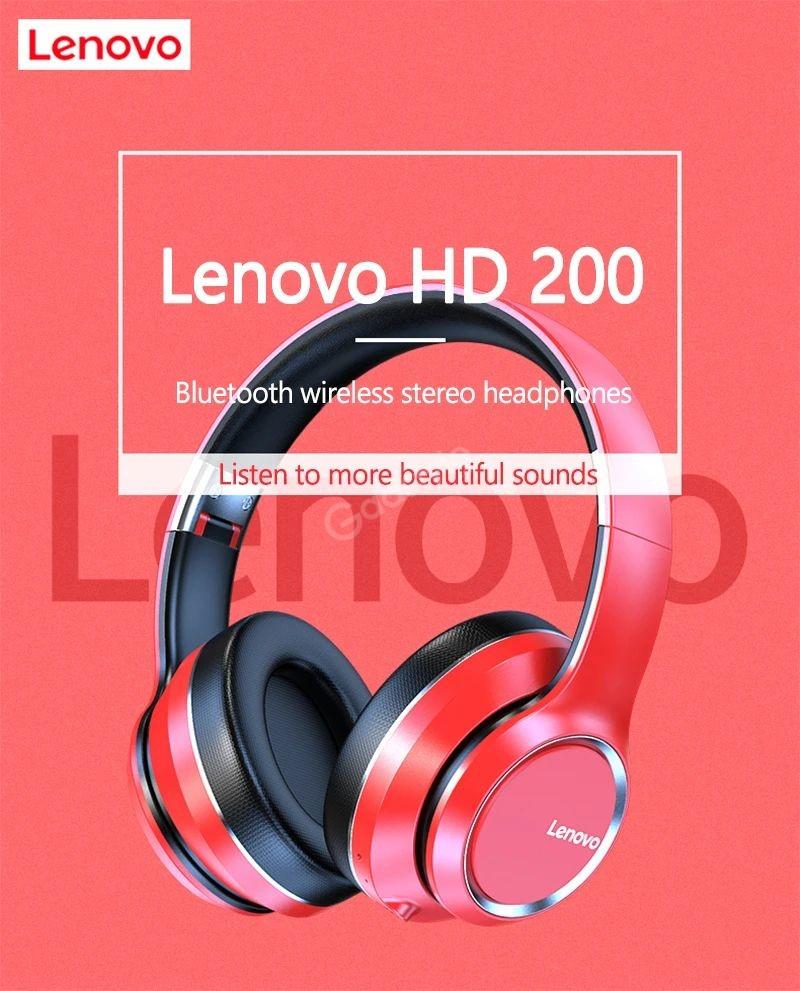 Lenovo Hd200 Bluetooth Wireless Headphones (5)