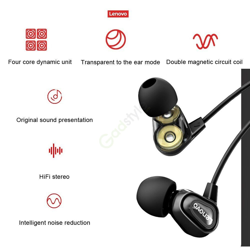 Lenovo He08 Dual Dynamic Bluetooth 5 0 Sports Neckband (5)