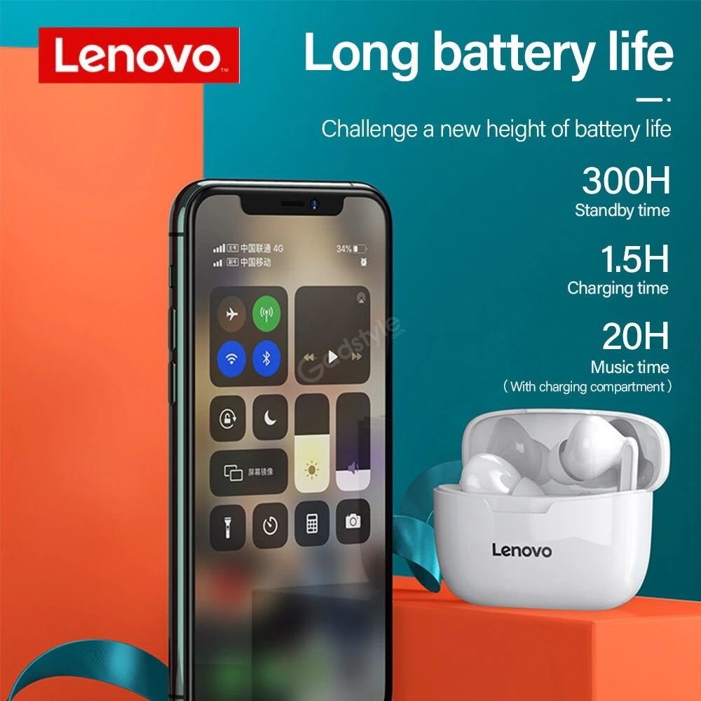 Lenovo Xt90 Tws Bluetooth 5 0 Earbuds (1)