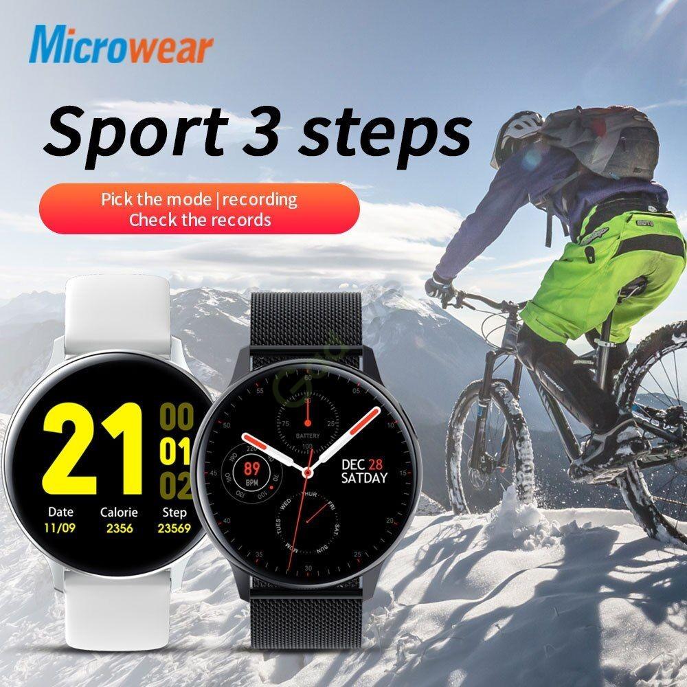 Microwear S30 Smart Watch Ip68 Waterproof (1)