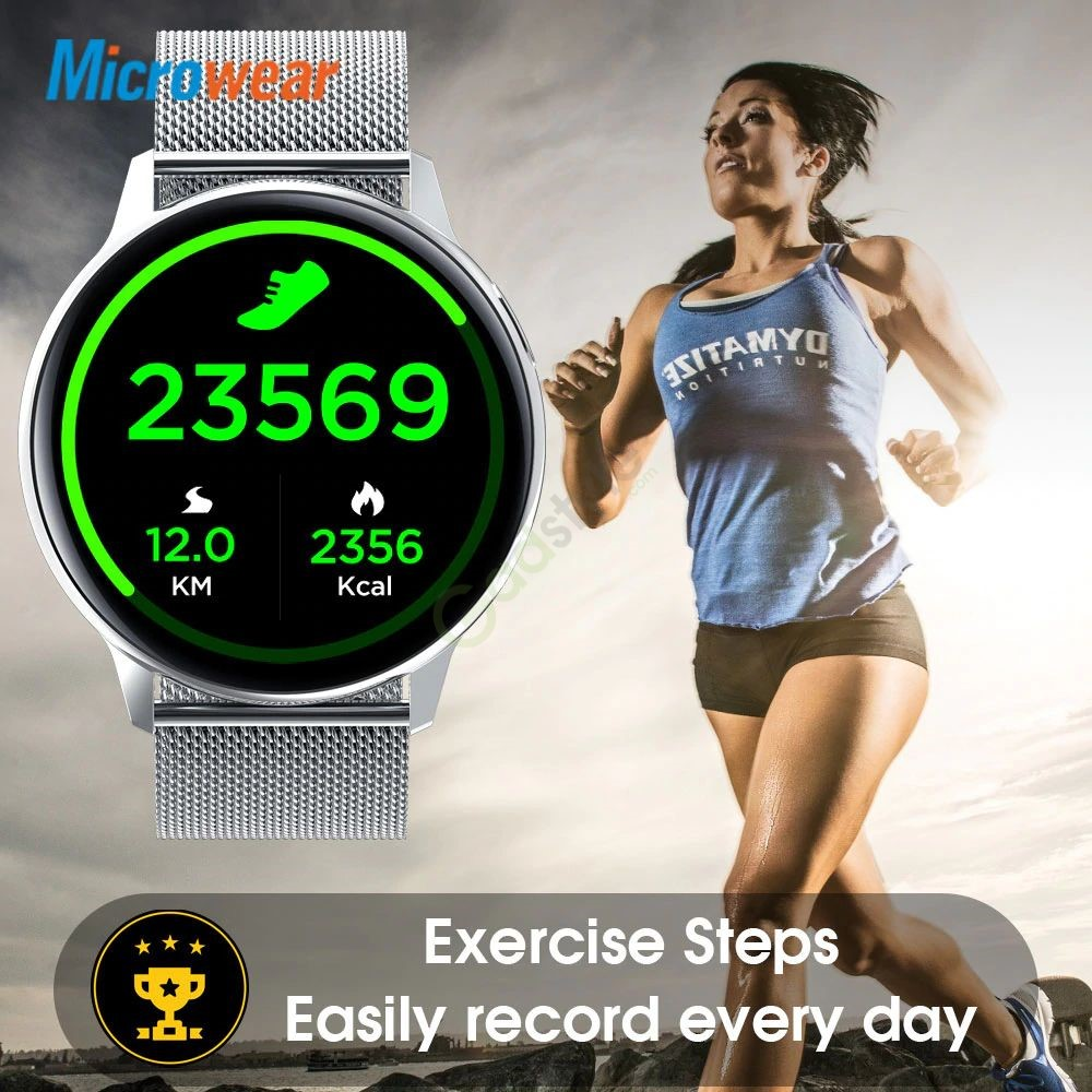 Microwear S30 Smart Watch Ip68 Waterproof (2)