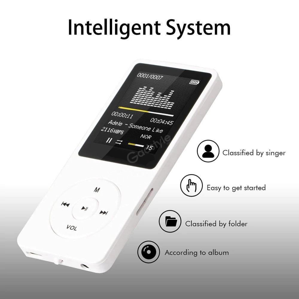 Mini Portable Mp3 Mp4 Music Player Fm Recorder Tf Card (4)